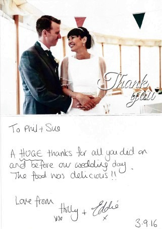 Harewood House Wedding Catering Testimonial